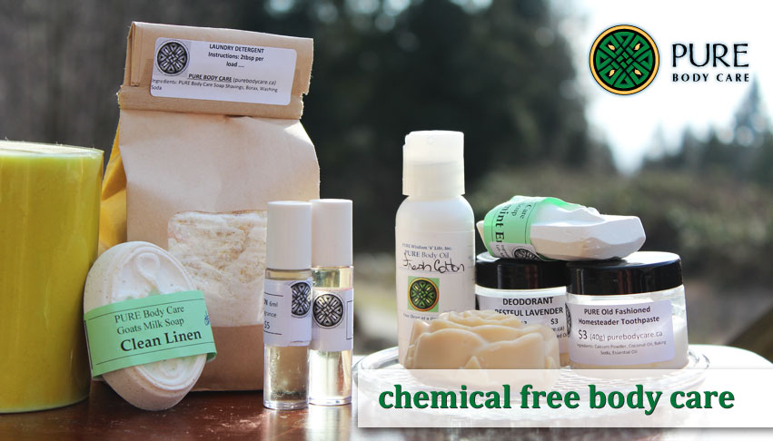 PURE Body Care | Chemical Free Body Care Products